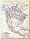 USA CANADA Etc: North America. Antique Maps.Harper.1883